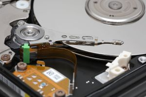 This lovely example shot of a HDD comes courtesy of the folks at Wikipedia