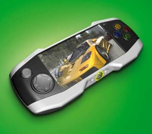This is one of the nicer mockups of a handheld Xbox device going around.