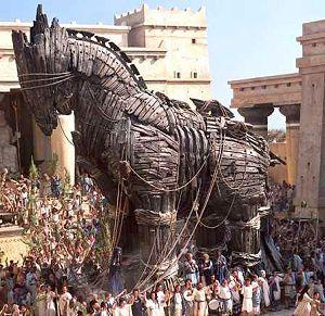 Now that's a trojan.