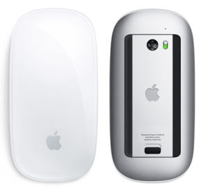 Apple's new mouse boasts multi-touch support.