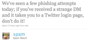 Phishing Twitter